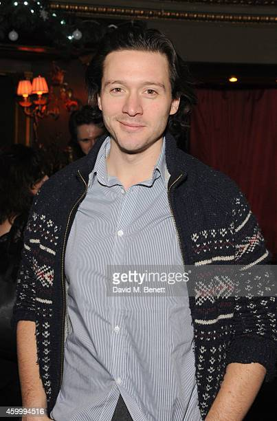 David Oakes attends the WhatsOnStage Awards Launch Party at Cafe de Paris on December 5 2014 in London England