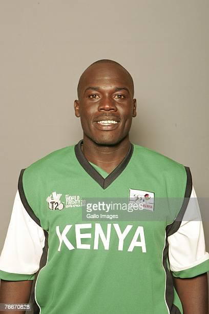David Obuya of Kenya during an ICC Twenty20 World Cup portrait session on September 7 2007 in Johannesburg South Africa