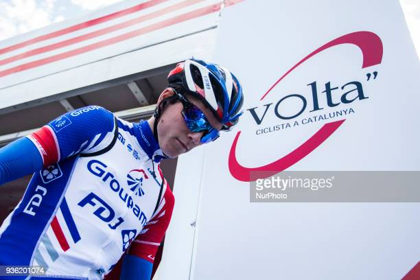 163 GAUDU David of GROUPAMA FDJ 98th Volta Ciclista a Catalunya 2018 / Stage 3 Sant Cugat Camprodon of 153km during the Tour of Catalunya March 21th...