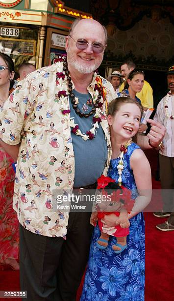 David Ogden Stiers and Daveigh Chase at the premiere and afterparty for 'Lilo Stitch' at the El Capitan Theatre in Los Angeles Ca Sunday June 16 2002...