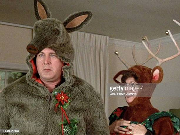 David Ogden Stiers as Al Meyer and Kim Darby as Jenny Meyer in the 1985 movie Better Off Dead Image is a frame grab