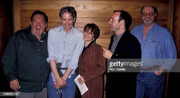 David Ogden Stiers David Schramm Kevin Kline Patti LuPone and Kevin Spacey