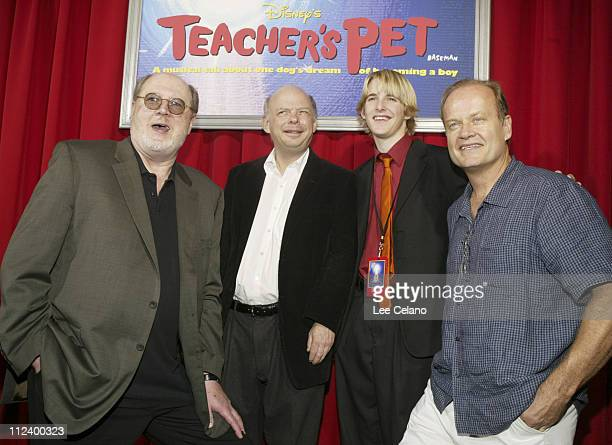 David Ogden Stiers Wallace Shawn Shaun Fleming and Kelsey Grammer