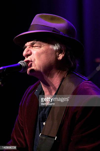 David Olney performs during Music City Roots at the Loveless Cafe on March 7 2012 in Nashville Tennessee