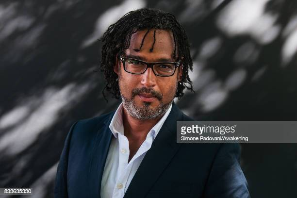 David Olusoga attends a photocall during the Edinburgh International Book Festival on August 17 2017 in Edinburgh Scotland