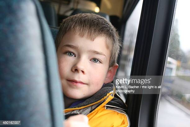David on the bus