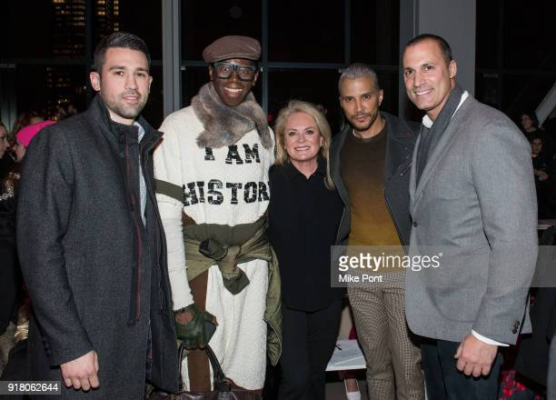 David O'Neil J Alexander Pamella Roland Jay Manuel and Nigel Barker attend The Blonds fashion show during New York Fashion Week The Shows at Spring...
