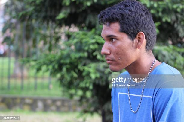 David Ortega walked the 340 miles between Coecuta and Bogota and now often sleeps in the streets or in the seats of the bus terminal