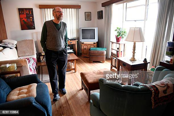 David Orthman stands in his living room as he discusses his painful form of cystic fibrosis December 6 2016 at his home Colorado's efforts to crack...