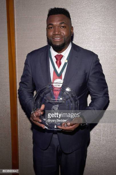 David Ortiz attends the 32nd Annual Great Sports Legends Dinner To Benefit The Miami Project/Buoniconti Fund To Cure Paralysis at New York Hilton...