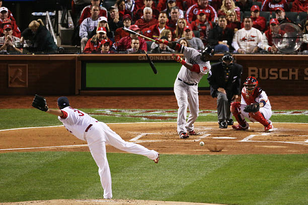 World Series - Boston Red Sox v St Louis Cardinals - Game Four