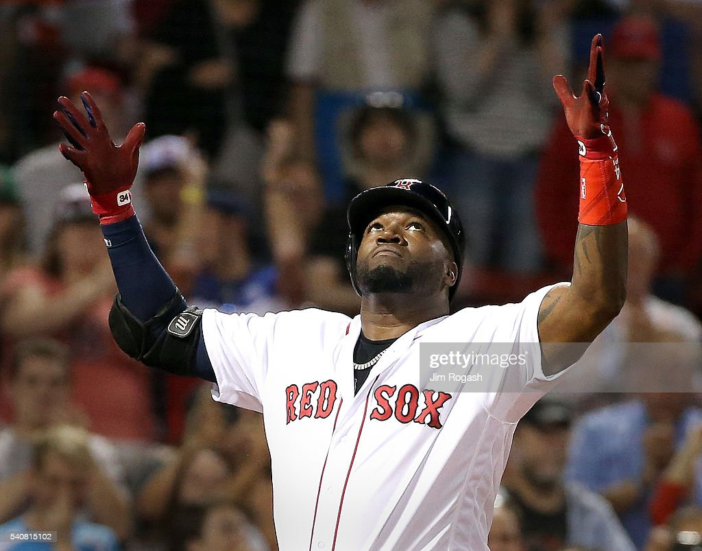 David Ortiz Hitting A Homerun