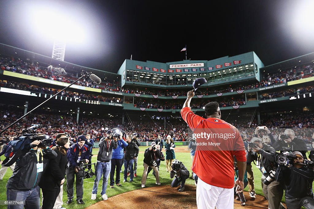Division Series - Cleveland Indians v Boston Red Sox - Game Four : News Photo