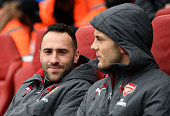 london england david ospina arsenal before