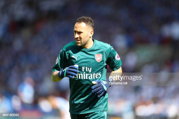 David Ospina of Arsenal during the Premier League match between Huddersfield Town and Arsenal at John Smith's Stadium on May 13 2018 in Huddersfield...