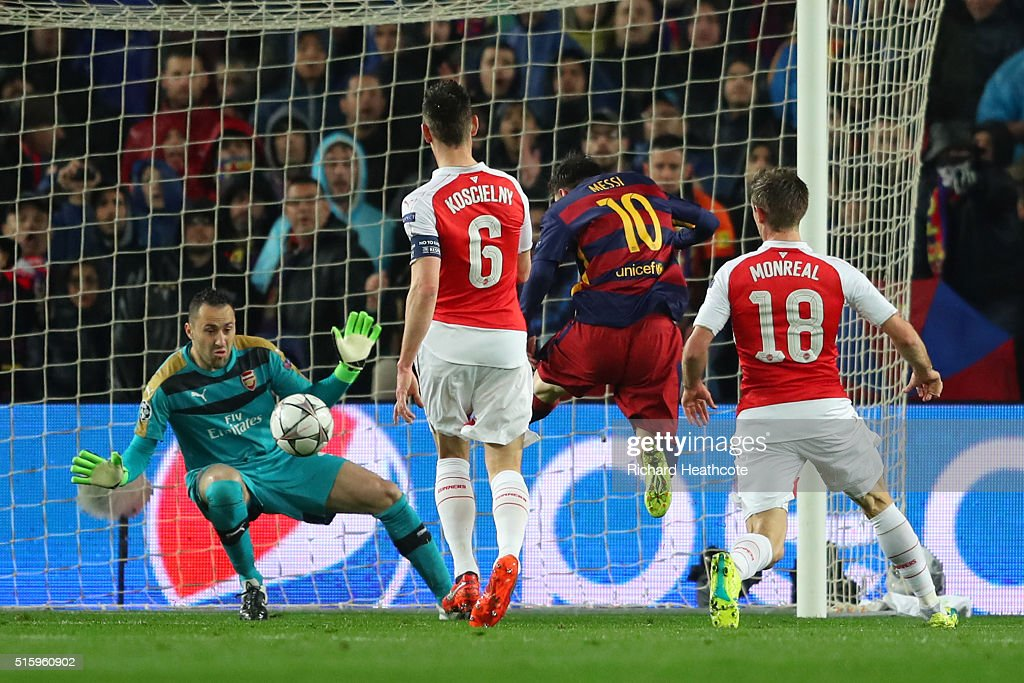 FC Barcelona v Arsenal FC - UEFA Champions League Round of 16: Second Leg : News Photo