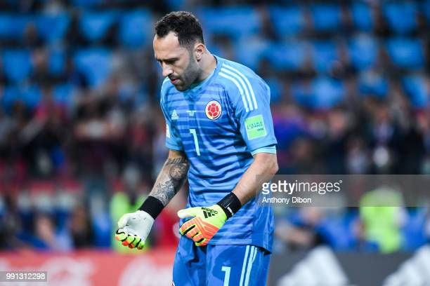 David Ospina of Colombia during the 2018 FIFA World Cup Russia Round of 16 match between Colombia and England at Spartak Stadium on July 3 2018 in...