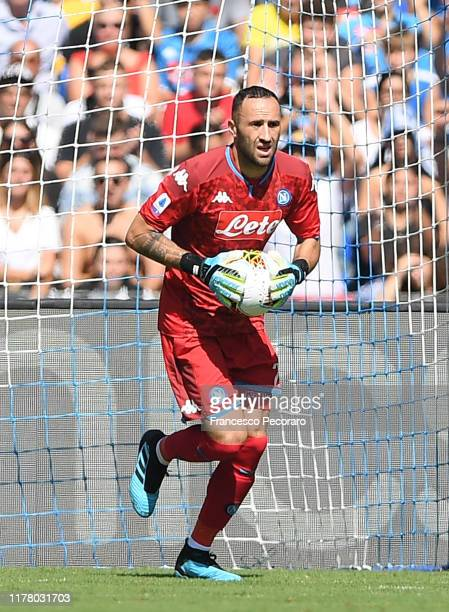 David Ospina of SSC NAPOLI during the Serie A match between SSC Napoli and Brescia Calcio at Stadio San Paolo on September 29 2019 in Naples Italy