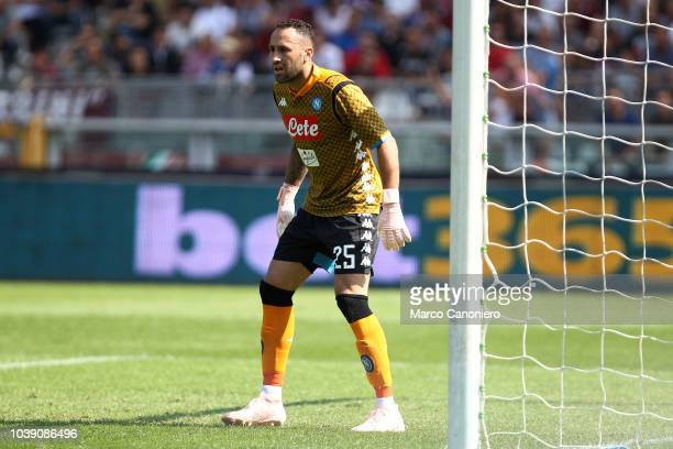 David Ospina of Ssc Napoli in action during the Serie A football match between Torino Fc and Ssc Napoli