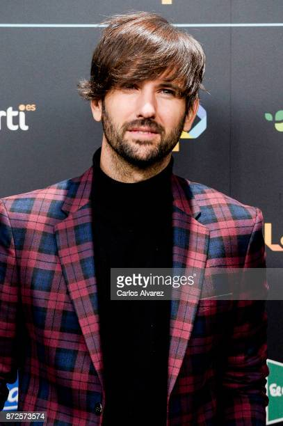 David Otero attends 'Los 40 Music Awards' photocall at WiZink Center on November 10 2017 in Madrid Spain