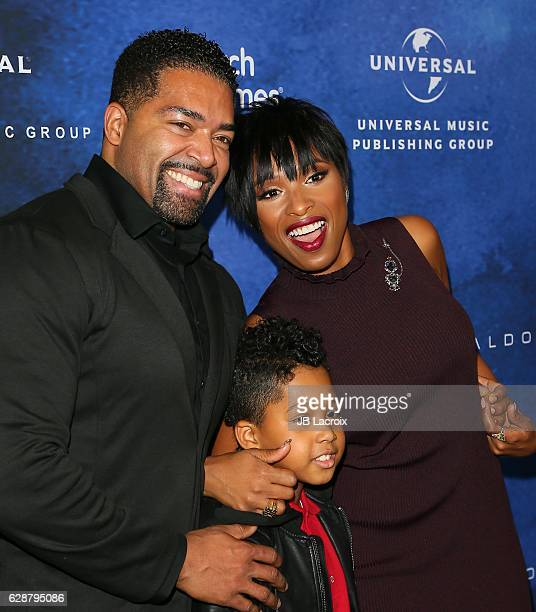 David Otunga Jennifer Hudson and David Otunga Jr attend 2016 March of Dimes Celebration of Babies at the Beverly Wilshire Four Seasons Hotel on...