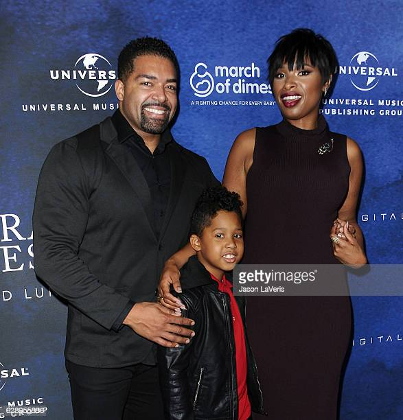 David Otunga Jennifer Hudson and son David Otunga Jr attend the 2016 March of Dimes Celebration of Babies at the Beverly Wilshire Four Seasons Hotel...