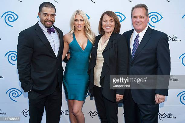 David Otunga Kelly Kelly Carole Hart and John McKay arrive for the Time Warner Cable Media's Cabletime Upfront event at Private Social on May 17 2012...