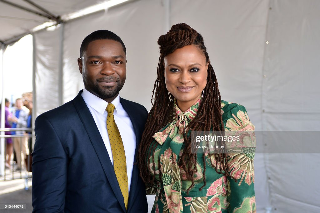 David Oyelowo and Ava DuVernay during the 2017 Film Independent Spirit Awards at the Santa Monica Pier on February 25, 2017 in Santa Monica, California.