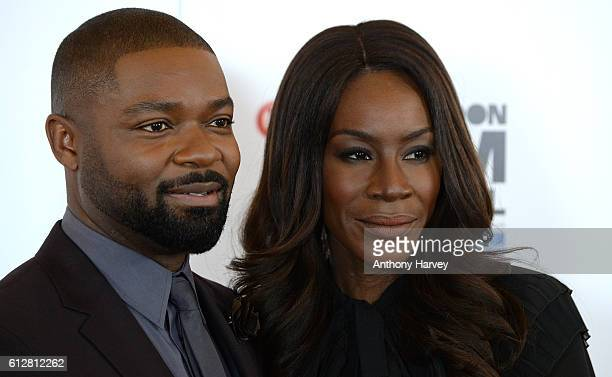 David Oyelowo and Director Amma Asante attend the 'A United Kingdom' photocall during the 60th BFI London Film Festival at The Mayfair Hotel on...