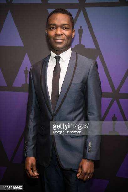 David Oyelowo arrives at the Academy of Motion Picture Arts and Sciences' Scientific and Technical Awards ceremony on February 9 2019 in Beverly...