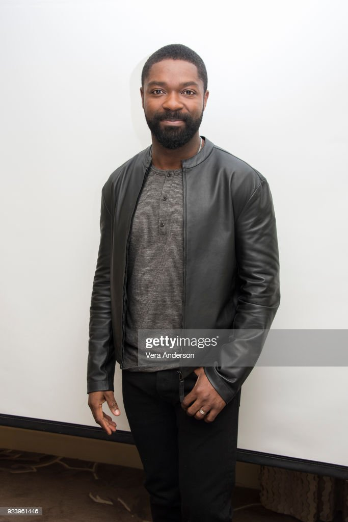 David Oyelowo at the 'Gringo' Press Conference at the Four Seasons Hotel on February 24, 2018 in Beverly Hills, California.