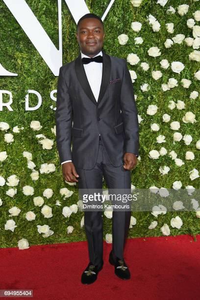 David Oyelowo attends the 2017 Tony Awards at Radio City Music Hall on June 11 2017 in New York City