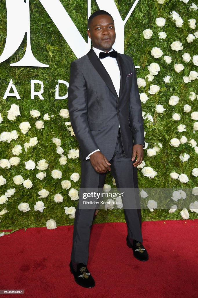 David Oyelowo attends the 2017 Tony Awards at Radio City Music Hall on June 11, 2017 in New York City.
