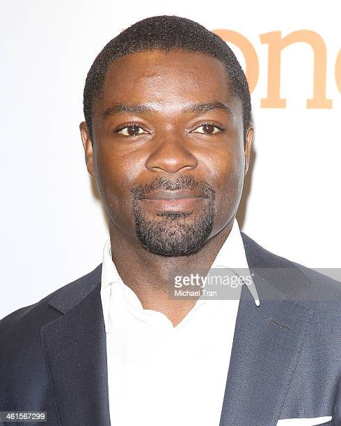 David Oyelowo attends the 45th NAACP Image Awards nominations announcement held at Langham Hotel on January 9, 2014 in Pasadena, California.