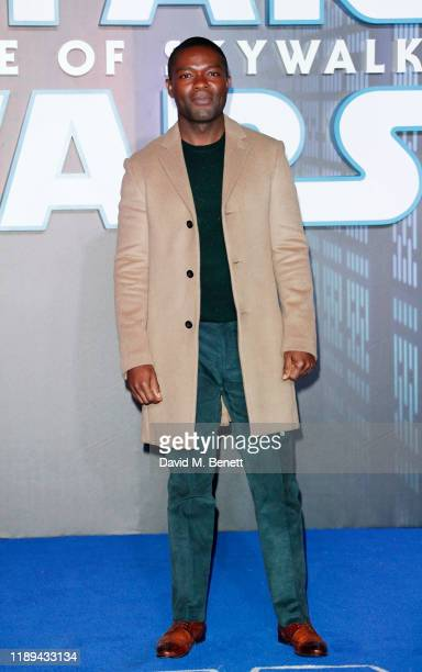 David Oyelowo attends the European Premiere of Star Wars The Rise of Skywalker at Cineworld Leicester Square on December 18 2019 in London England