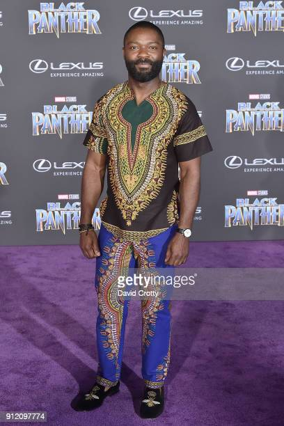 David Oyelowo attends the Premiere Of Disney And Marvel's 'Black Panther' Arrivals on January 29 2018 in Hollywood California
