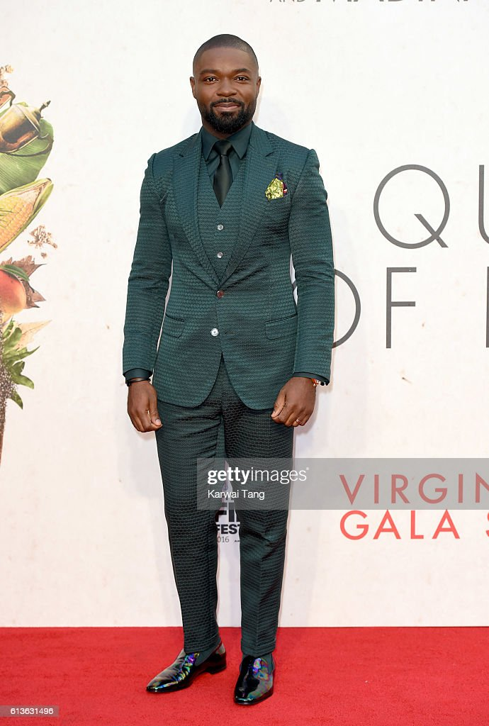 David Oyelowo attends the 'Queen Of Katwe' - Virgin Atlantic Gala screening during the 60th BFI London Film Festival at Odeon Leicester Square on October 9, 2016 in London, England.