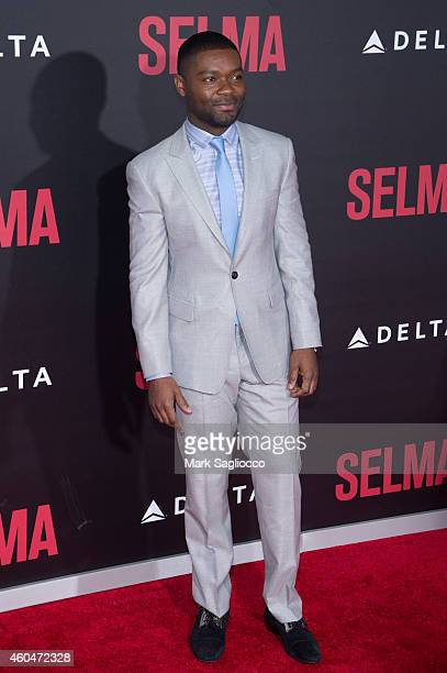 David Oyelowo attends the 'Selma' New York Premiere at the Ziegfeld Theater on December 14 2014 in New York City