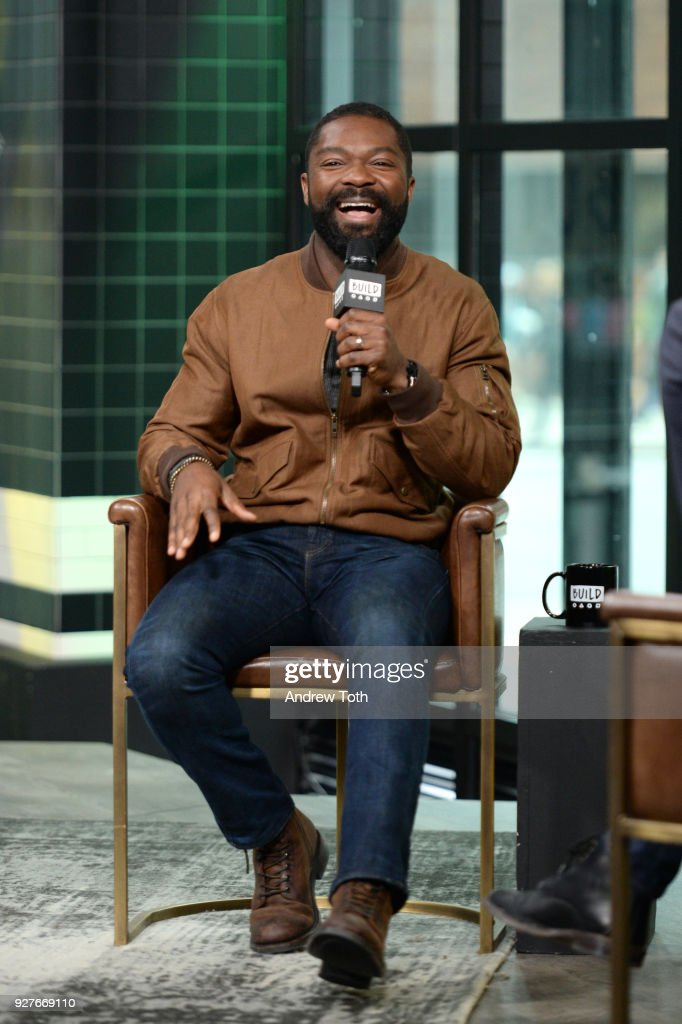 David Oyelowo visits Build to discuss the film 'Gringo' at Build Studio on March 5, 2018 in New York City.