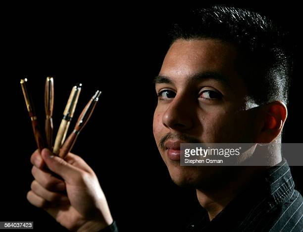 David Pantoja student owner of Dave's Pens Handcrafting wood pens and pencils was just a shop class project for David Pantoja until an...