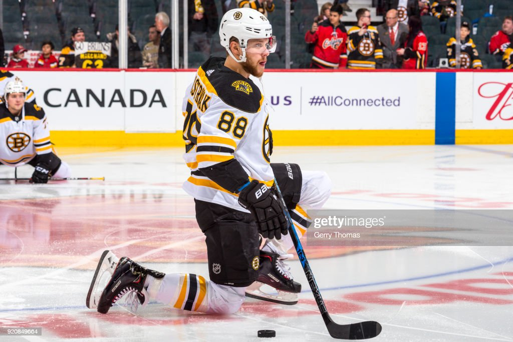 Boston Bruins v Calgary Flames