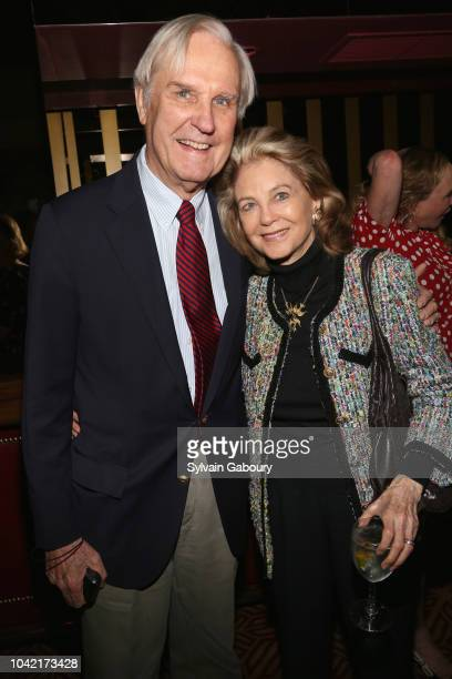 David Patrick Columbia and Maria Janice attend David Patrick Columbia And Chris Meigher Toast The QUEST 400 At DOUBLES on September 27 2018 in New...