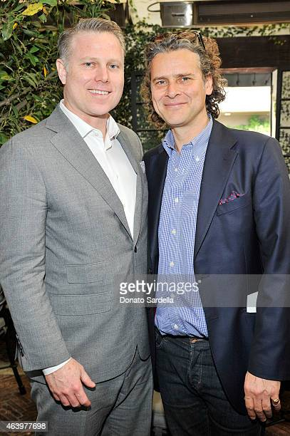David Paul Olsen Attends Netaportercom Celebrates Charlotte Tilbury At The Aoc On February   In