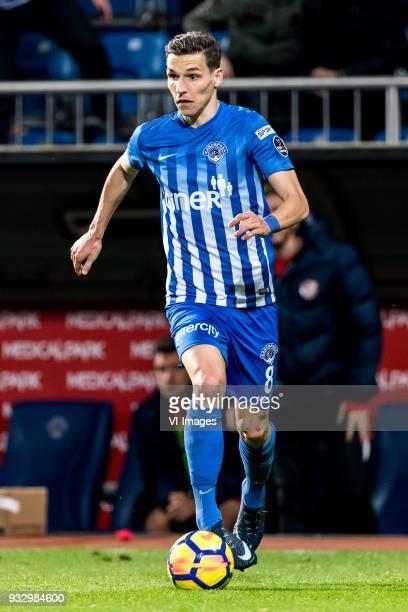 David Pavelka of Kasimpasa AS during the Turkish Spor Toto Super Lig match between Kasimpasa AS and Antalyaspor AS at the Recep Tayyip Erdoganstadion...