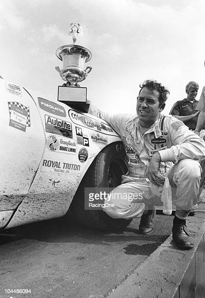 David Pearson after winning the Southern 500 at Darlington Raceway one of his 10 NASCAR Cup wins during the year