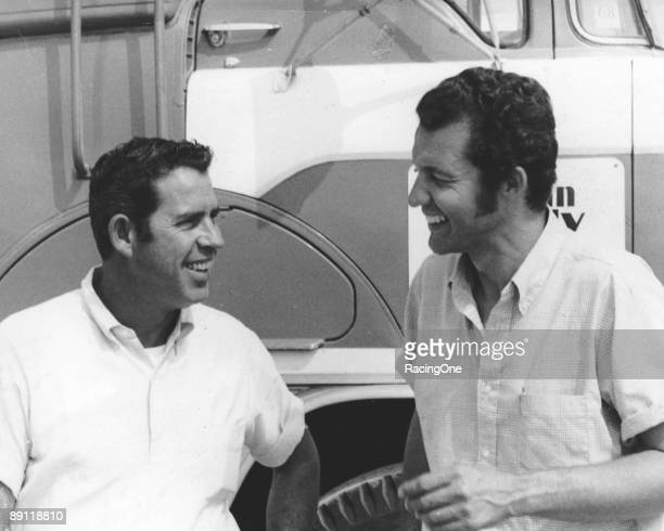 David Pearson and Richard Petty