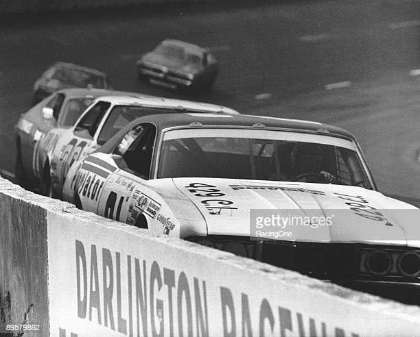 David Pearson won the Rebel 500 by a huge margin of 13 laps He drove the Wood Bros '71 Mercury