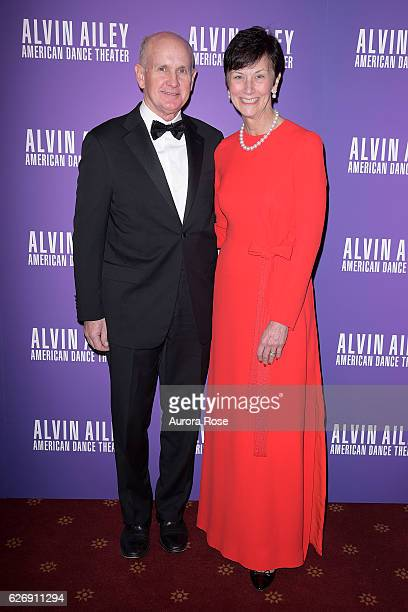 David Peetz and Karen Peetz attend Alvin Ailey American Dance Theater Opening Night Gala Benefit 'An Evening of Ailey and Jazz' at New York City...
