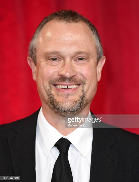 David Perks attends the British Soap Awards at The Lowry Theatre on June 3 2017 in Manchester England