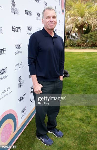 David Permut attends Variety's Creative Impact Awards and 10 Directors to Watch Brunch Red Carpet at the 29th Annual Palm Springs International Film...